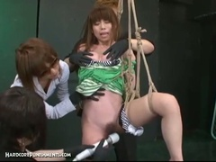 Japanese slavery sex with extraordinary s&m punishment