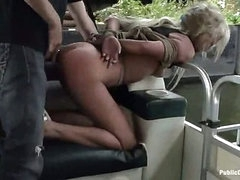 Carla gets screwed and facial on a boat (Kink » Public Disgrace)