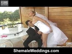 Camile impressive shemale bride