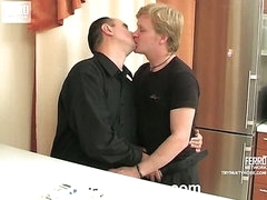 Archibald&Monty men in pantyhose clip scene