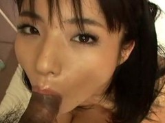 Blameless-looking Momo Jyuna will keep u sexy as that honey greedily sucks dong with her luscious mouth. That Babe has no qualms swallowing a large knob and play it with her tongue. This Japanese beauty is taken to heaven whilst getting her taut cunt screwed by an Oriental stud. Check out her delightful bushy soaked crack being attacked by an angry dick