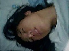 Grainy, shaky and noisy mobile phone video of Korean dilettante legal age teenager Hye Jin taking her mature lovers cock in her hairy bawdy cleft and riding him into oblivion while carrying out all precautions proscribed by safe sex regulations.