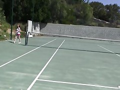 She is out on the tennis court on a bright, warm and sunny day. it makes her very hawt and willing to shed her clothes to get rid of her heat. this chick acquires into the shower to reveal a pair of zeppelins that can drive a man crazy and an ass that is a enjoyment to look at. tutor is going to enjoy her body.