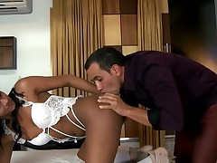 Experienced ladyman likes engulfing dicks very much