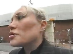 Young Guy Tempt A Busty Mamma In The Street And Fuck Her
